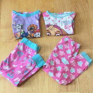Paw Patrol pajamas bundle 3T 🐾